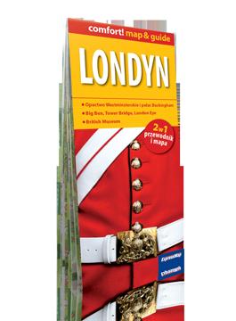 LONDYN 2w1 przewodnik i mapa EXPRESSMAP