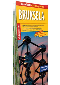 BRUKSELA 2w1 przewodnik i mapa EXPRESSMAP