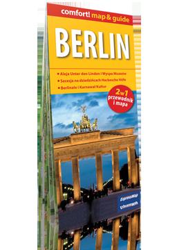 Berlin 2w1 przewodnik i mapa EXPRESSMAP 2016