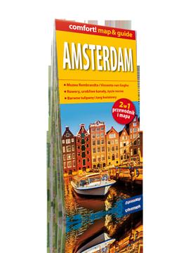 AMSTERDAM 2w1 przewodnik i mapa EXPRESSMAP 2019