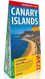 Wyspy Kanaryjskie laminowana mapa turystyczna ver. Angielska EXPRESSMAP