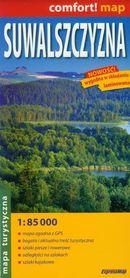 Suwalszczyzna laminowana mapa turystyczna 1:85 000 EXPRESSMAP