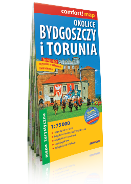 Okolice Bydgoszczy i Torunia laminowana mapa turystyczna EXPRESSMAP