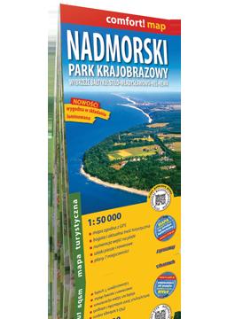NADMORSKI PARK KRAJOBRAZOWY laminowana mapa turystyczna EXPRESSMAP 2019