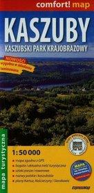 KASZUBY Kaszubski Park Krajobrazowy laminowana mapa turystyczna EXPRESSMAP