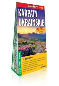 Karpaty Ukraińskie laminowana mapa turystyczna EXPRESSMAP 2019