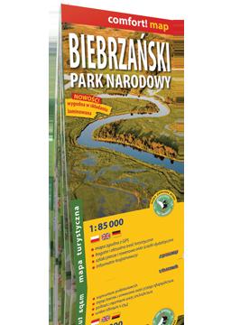 Biebrzański Park Narodowy laminowana mapa turystyczna EXPRESSMAP