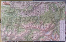 TATRZAŃSKI PARK NARODOWY mapa ścienna 1:30 000 GAUSS