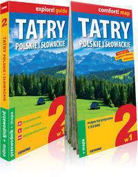TATRY POLSKIE I SŁOWACKIE  2w1: przewodnik+ mapa EXPRESSMAP 2016