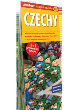 CZECHY XL 2w1 przewodnik i mapa  EXPRESSMAP 2016