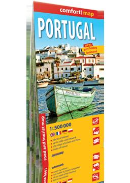PORTUGALIA mapa turystyczno-samochodowa wersja angielska EXPRESSMAP 2016