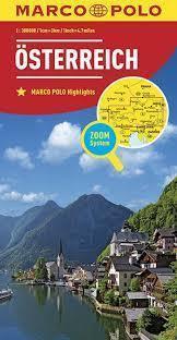 AUSTRIA mapa samochodowa MARCO POLO ZOOM 2016