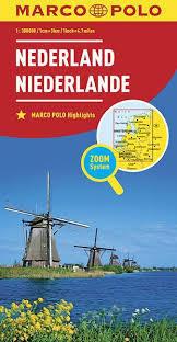 HOLANDIA mapa samochodowa MARCO POLO ZOOM 2016