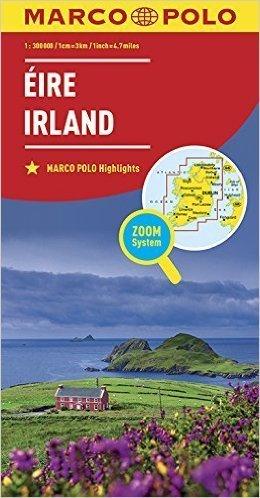 IRLANDIA mapa samochodowa MARCO POLO ZOOM 2016