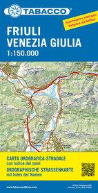 FRIULI VENEZIA GIULIA - WENECJA JULIJSKA mapa turystyczna 1:150 000 TABACCO