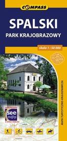 SPALSKI PARK KRAJOBRAZOWY mapa turystyczna 1:50 000 COMPASS