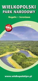 WIELKOPOLSKI PARK NARODOWY Rogalin, Szreniawa, mapa turystyczna 1:25 000 CARTOMEDIA