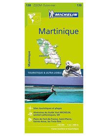 MARTYNIKA 138 mapa samochodowa 1:80 000 MICHELIN