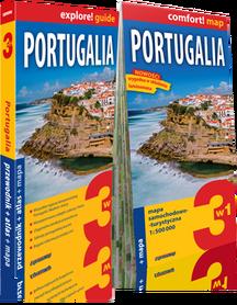 PORTUGALIA przewodnik + atlas + mapa 3w1 EXPRESSMAP 2019