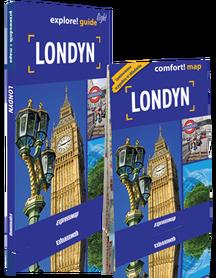 Londyn 2w1 przewodnik + mapa laminowana LIGHT EXPRESSMAP 2016 !!