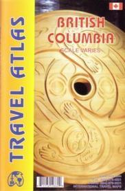 KOLUMBIA BRYTYJSKA BRITISH COLUMBIA ATLAS SAMOCHODOWY ITMB