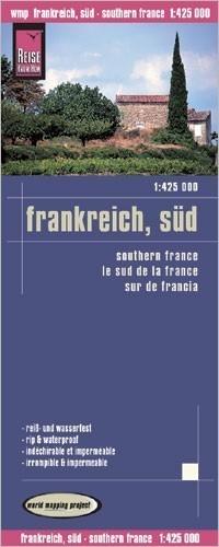 FRANCJA POŁUDNIOWA mapa 1:425 000 REISE KNOW HOW