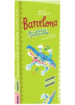 BARCELONA dla młodych podróżników przewodnik dla dzieci EXPRESSMAP 2016