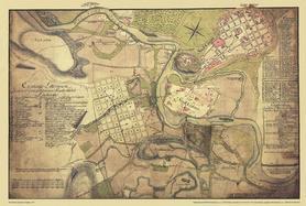 KRAKÓW mapa z 1779 Roku AUSTERIA