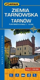 ZIEMIA TARNOWSKA TARNÓW mapa turystyczna 1:100 000 COMPASS 2016