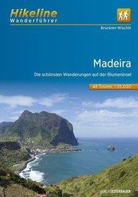 MADEIRA MADERA przewodnik turystyczny + mapy 1:35 000 wer.niem HIKELINE 2016 !!