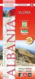 ALBANIA VLORA mapa turystyczna 1:50 000 HUBER KARTOGRAPHIE