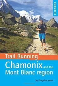 CHAMONIX MONT BLANC przewodnik dla biegaczy CICERONE 2016