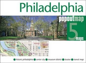 PHILADELPHIA mapa/ plan miasta PopOut Maps