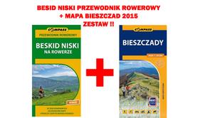 BESKID NISKI NA ROWERZE przewodnik rowerowy + mapa BIESZCZAD 2015 !