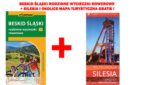 BESKID ŚLĄSKI RODZINNE WYCIECZKI ROWEROWE + MAPA SILESIA I OKOLICE GRATIS !!