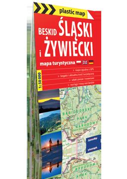BESKID ŚLĄSKI I ŻYWIECKI FOLIOWANA mapa turystyczna 1:50 000 EXPRESSMAP 2016