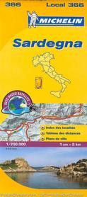 366 SARDYNIA mapa samochodowa 1:220 000 FRANCJA MICHELIN 2015