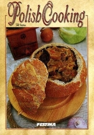 DOMOWA KUCHNIA POLSKA książka kucharska FESTINA j.angielski