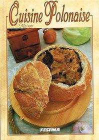 DOMOWA KUCHNIA POLSKA książka kucharska FESTINA j.francuski