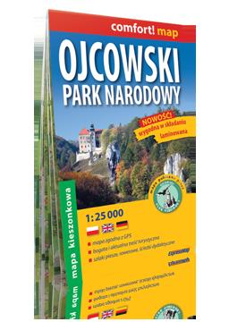 OJCOWSKI PARK NARODOWY KIESZONKOWA laminowana mapa 1:25 000 EXPRESSMAP 2016