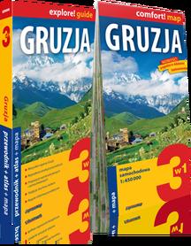 GRUZJA 3w1 przewodnik + atlas + mapa EXPRESSMAP 2018