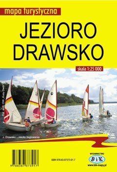JEZIORO DRAWSKO mapa turystyczna 1:25 000 BIK 2015