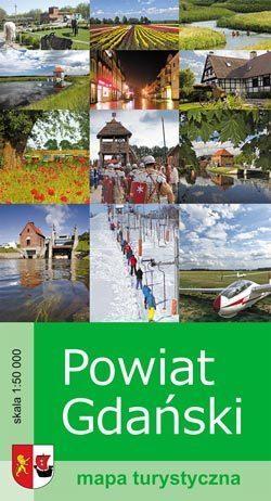 POWIAT GDAŃSKI mapa turystyczna 1:50 000 BIK  2015