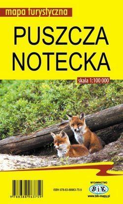 PUSZCZA NOTECKA mapa turystyczna 1:100 000 BIK