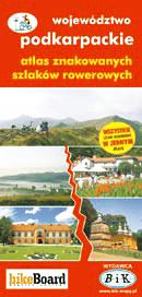 WOJEWÓDZTWO PODKARPACKIE atlas rowerowy BIK
