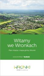 WRONKI plan miasta i mapa gminy WRONKI BIK