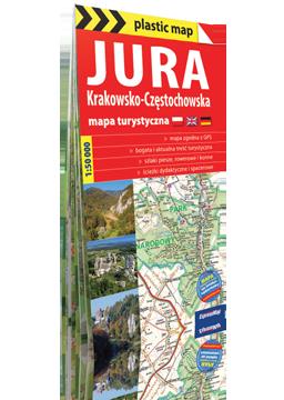 JURA KRAKOWSKO-CZĘSTOCHOWSKA FOLIOWANA mapa turystyczna EXPRESSMAP