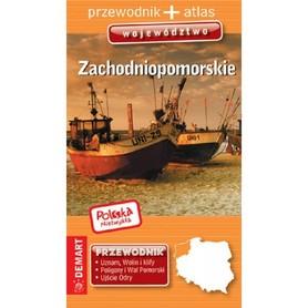 WOJEWÓDZTWO ZACHODNIOPOMORSKIE przewodnik + atlas DEMART