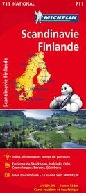 FINLANDIA I SKANDYNAWIA mapa 1:1 500 000 MICHELIN 2020
