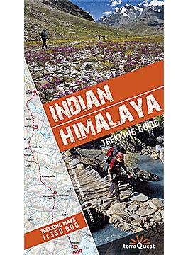 HIMALAJE INDYJSKIE przewodnik trekkingowy wer. angielska EXPRESSMAP